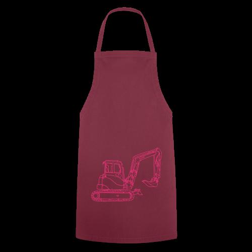 Bagger (neonpink) - Kochschürze