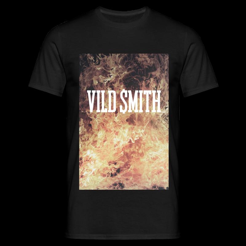 Straight Fire - Herre-T-shirt