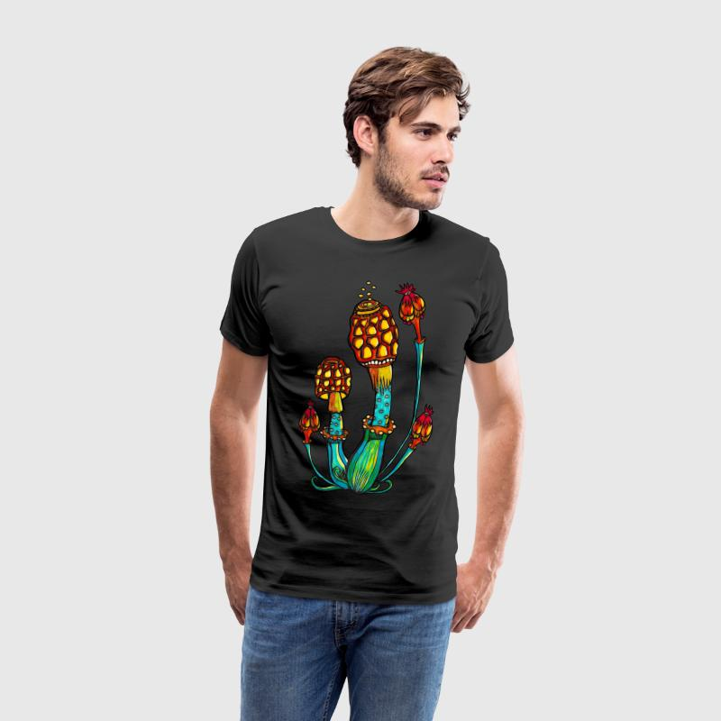 Magic Mushrooms, Paddo's, psychedelische, Goa Overig - Mannen Premium T-shirt