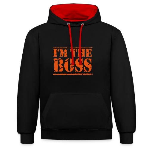 the boss - Kontrastluvtröja