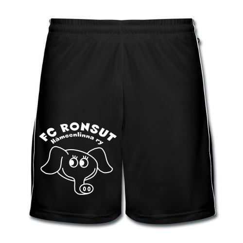 Isommat shortsit logo/teksti - Miesten jalkapalloshortsit