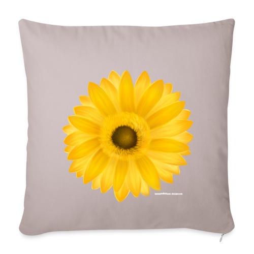 Kissen Sunflower - Sofakissenbezug 44 x 44 cm