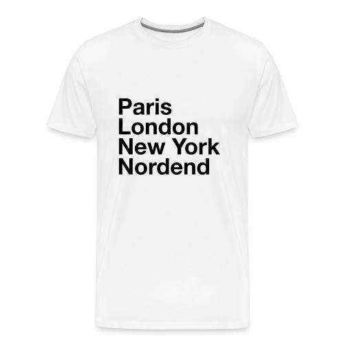 Nordend - Männer T-Shirt  - Männer Premium T-Shirt