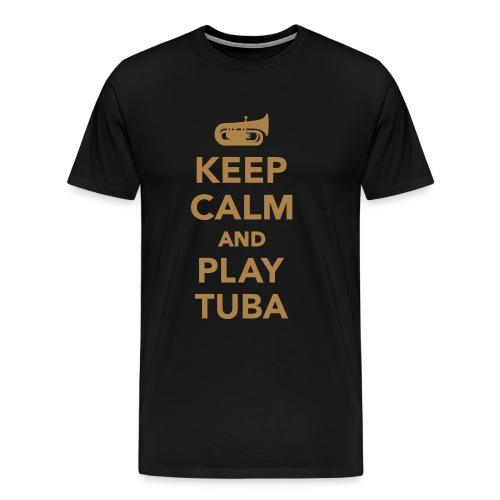 Tuba Evolution - Men's Premium T-Shirt