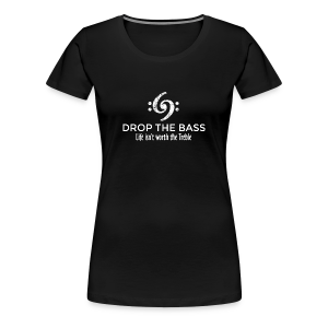 Drop the Bass T-Shirt 69 Vintage White (Damen) - Frauen Premium T-Shirt
