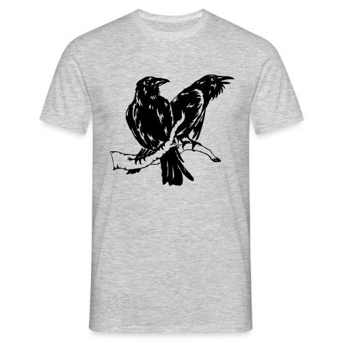 Hugin und Munin Shirt - Männer T-Shirt