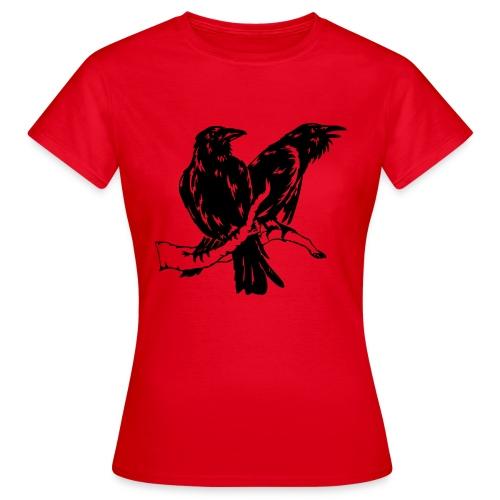 Hugin und Munin Girlie - Frauen T-Shirt