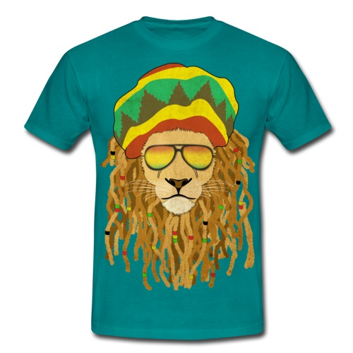 Lion dreadlocks - T-shirt Homme