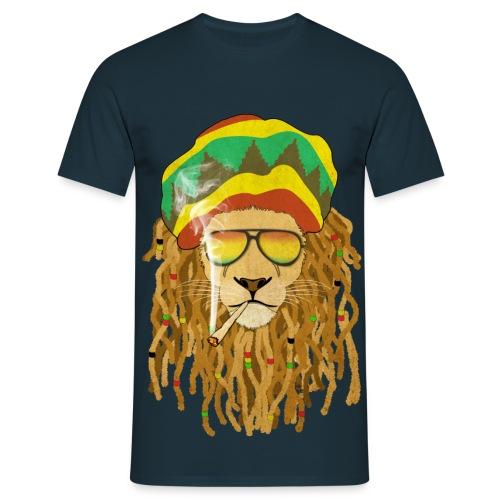Lion dreadsmoke - T-shirt Homme