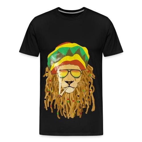Lion dreadsmoke - T-shirt Premium Homme