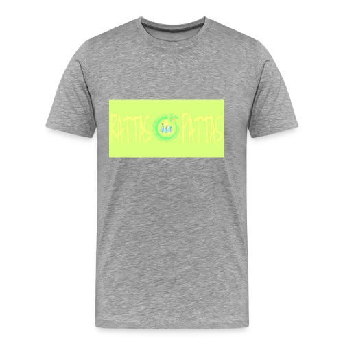 RATTAS PATTAS - THE FIRST DESIGN ( T-DAY2015 ) - Mannen Premium T-shirt