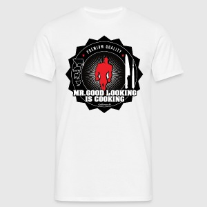 MR.GOOD LOOKING IS COOKING. - Herre-T-shirt