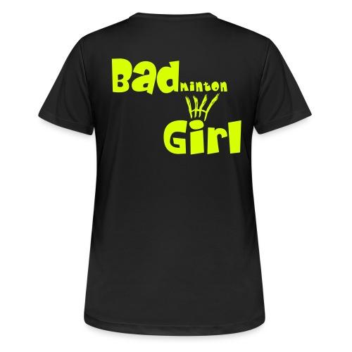 Bad-Girl - Frauen T-Shirt atmungsaktiv