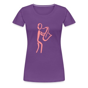 Saxophone Player  - Women's Premium T-Shirt