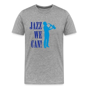 Jazz We Can M - Men's Premium T-Shirt