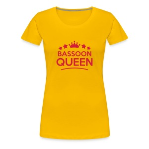 Bassoon Queen - Women's Premium T-Shirt