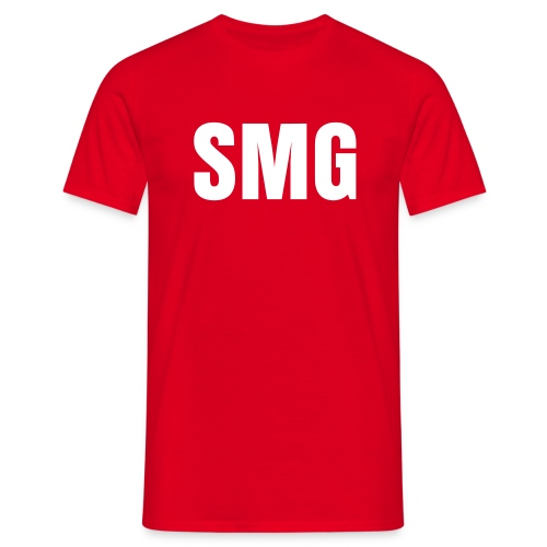 T-Shirt SMG Basic (red) - T-shirt Homme