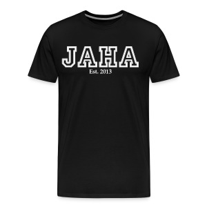 JAHA male black - Men's Premium T-Shirt