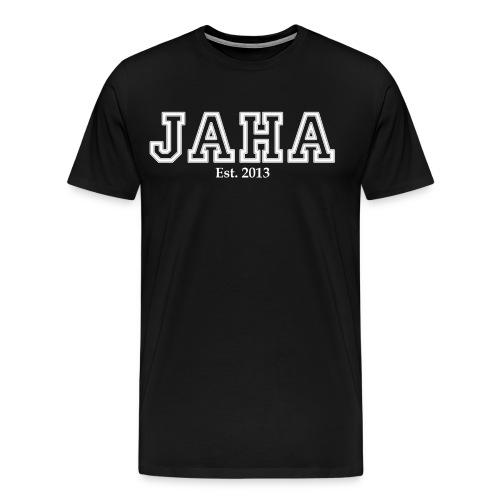 JAHA male black - Men's Premium T-Shirt