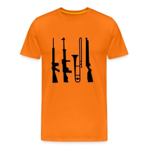 Trombone Guns - Men's Premium T-Shirt