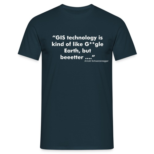 GIS Technology - Männer T-Shirt