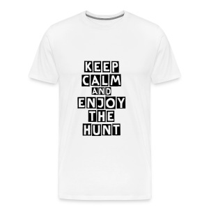 T-shirt Keep calm and enjoy the hunt - T-shirt Premium Homme