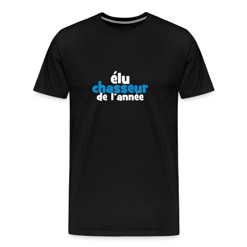 T-shirt Elu chasseur de l'année - T-shirt Premium Homme