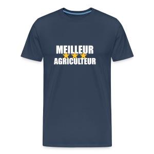 T-shirt Meilleur agriculteur - T-shirt Premium Homme