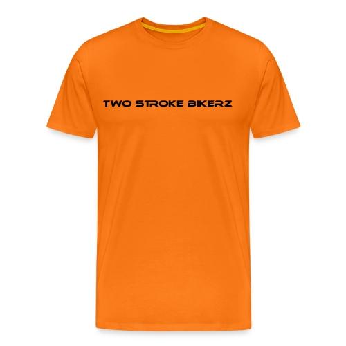 TSB Shirt - orange/schwarz - Männer Premium T-Shirt