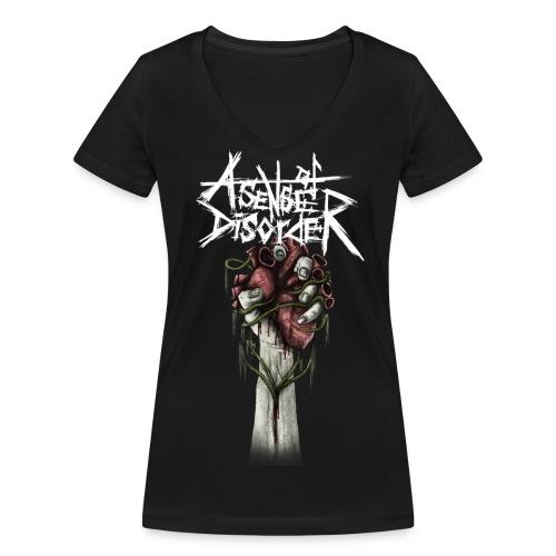 Flames of Life - Frauen T-Shirt - Frauen Bio-T-Shirt mit V-Ausschnitt von Stanley & Stella