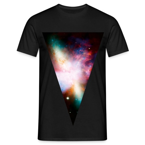 Space-lijn mannen t-shirt - Mannen T-shirt
