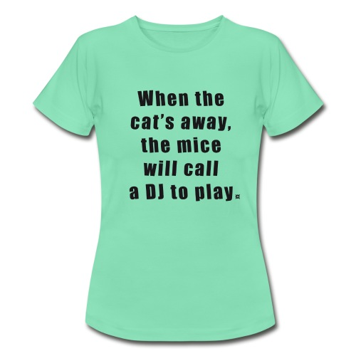 Cat LS Woman Black - Women's T-Shirt