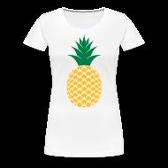 T-shirts ~ Vrouwen Premium T-shirt ~ Ananas