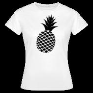 T-shirts ~ Vrouwen T-shirt ~ Ananas