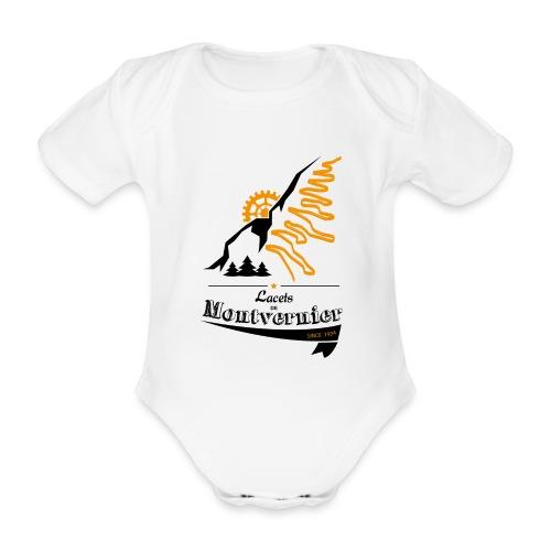 Lacets de Montvernier - Body bébé bio manches courtes