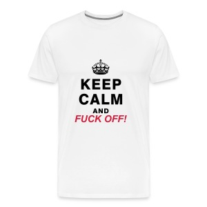 Keep Calm T-shirt - Men's Premium T-Shirt