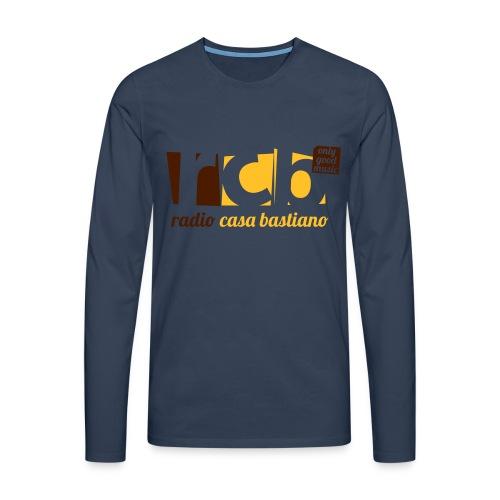 Maglietta RCB premium uomo manica lunga - Maglietta Premium a manica lunga da uomo