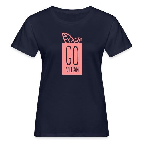Go Vegan (Organic) - Women's Organic T-shirt