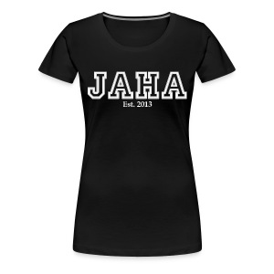 JAHA female black - Women's Premium T-Shirt