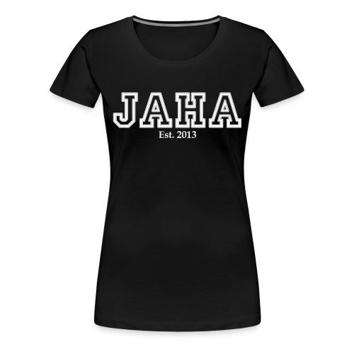 JAHA female black - Women's Premium T-Shirt