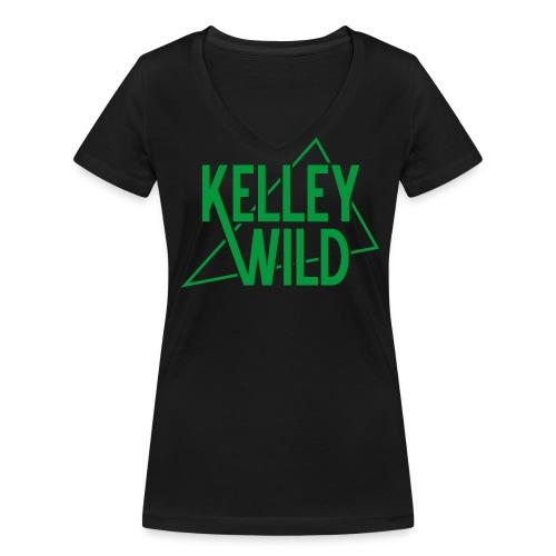 Ladys The Wedge Green - Frauen Bio-T-Shirt mit V-Ausschnitt von Stanley & Stella