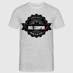 Grill champion - bacon is my spice - Herre-T-shirt