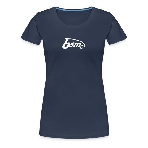 BSM Girls-T dunkelblau/weiß - Frauen Premium T-Shirt