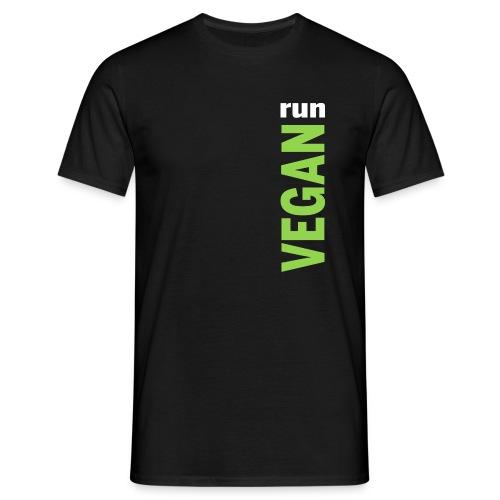 Maglietta uomo Run Vegan - Maglietta da uomo