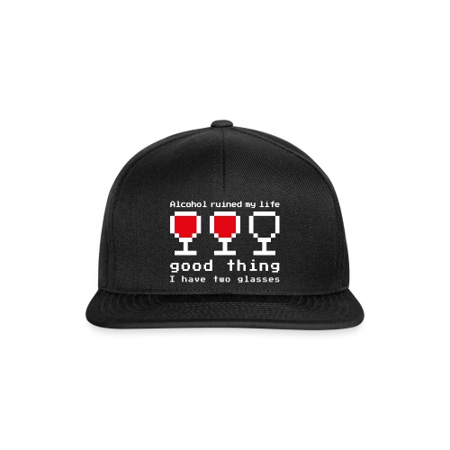 Alcohol ruined my life - Casquette snapback