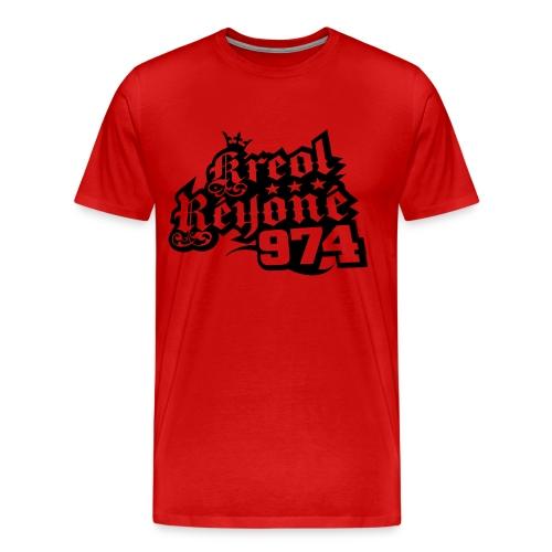 Kreol Reyone 974 - T-shirt Premium Homme