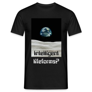 Intelligent lifeform? - T-skjorte for menn