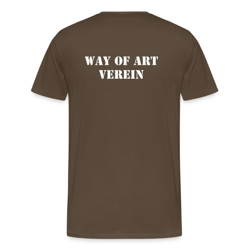 Way of Art Team Shirt  - Männer Premium T-Shirt
