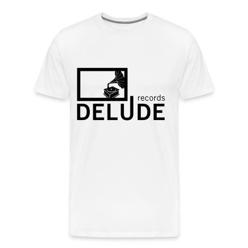 Delude Records T Shirt - Männer Premium T-Shirt