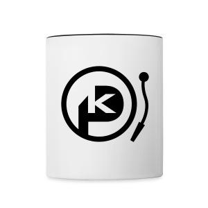 P-KAY Tasse - Tasse zweifarbig